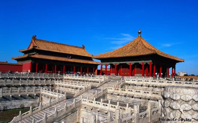 Запретный город Пекин Китай