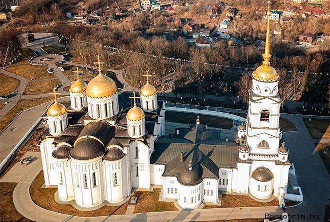 История Успенского собора Владимира