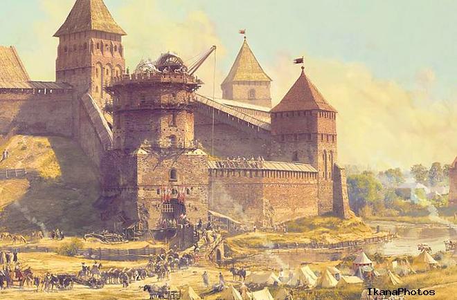 Замок в Новогрудке от древности до наших времён часть 1