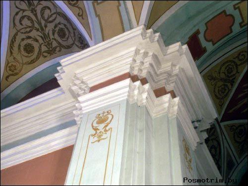 Интерьер костёла Иоанна Крестителя