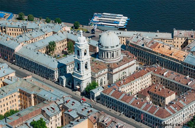 Храм Святой Екатерины Санкт-Петербург Васильевский остров