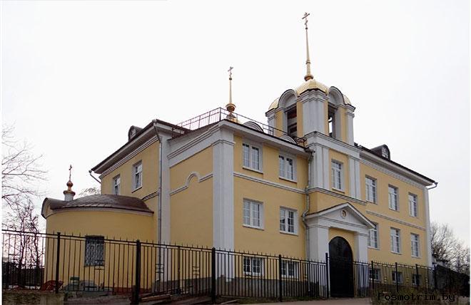 Храм Преображения Господня Болшево