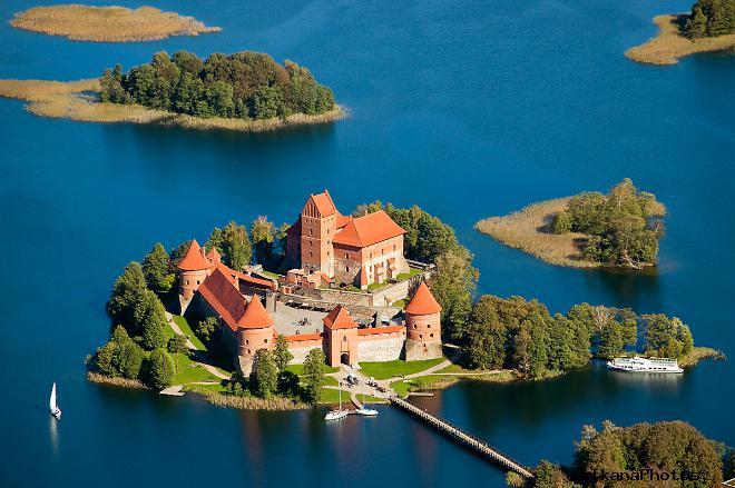 Тракайский замок Литва фото история замка в Тракае
