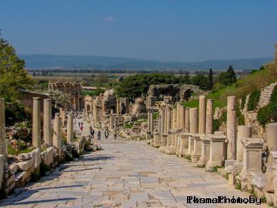 Мраморная улица древнего города Эфес