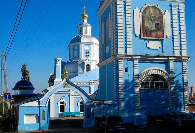 Никольский храм Воронеж