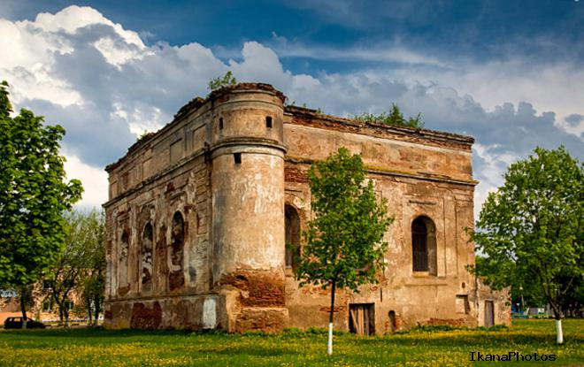 Быховский замок история строительства