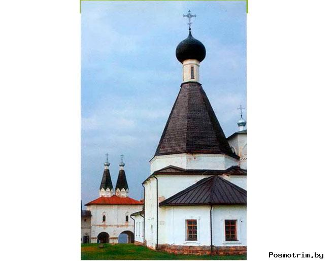 Церковь преподобного Мартиниана Ферапонтов монастырь