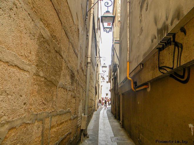 Самая узкая улица Парижа