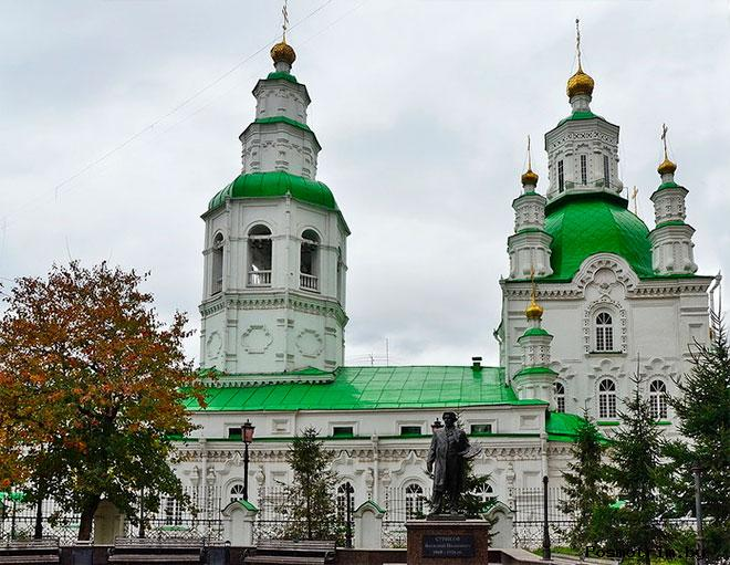 Покровская церковь Красноярск (Покровский Кафедральный собор)