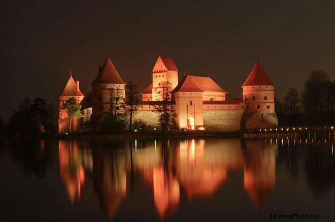 Тракайский замок краткая история после Грюнвальдской битвы