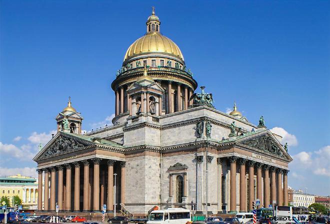 Колокольня и купол Исаакиевского собора
