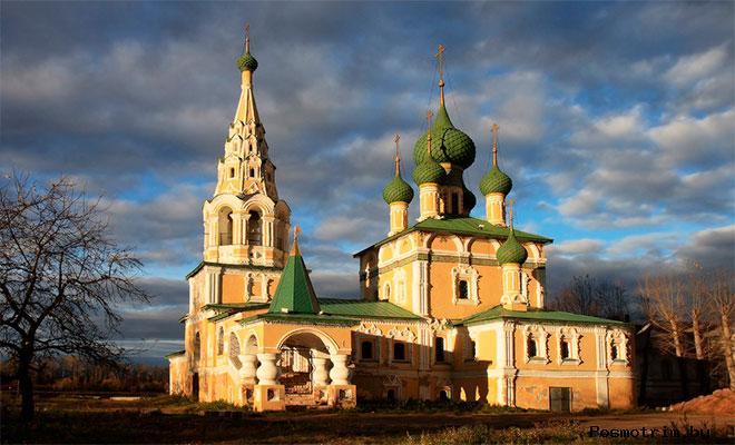 Церковь Иоанна ПредтечиУглич