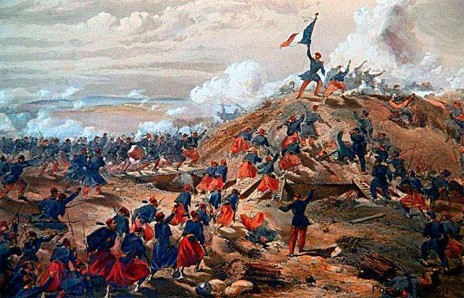 Ход Крымской войны