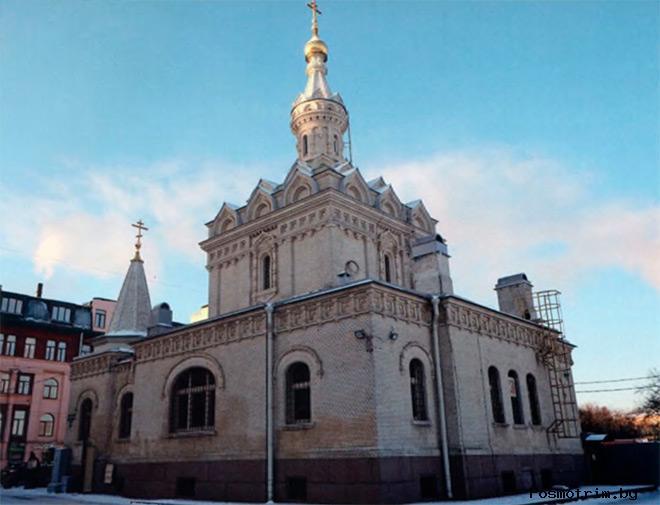 Скорбященская церковь Санкт-Петербург