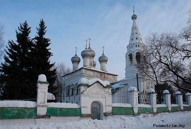 История храма Иоанна Богослова