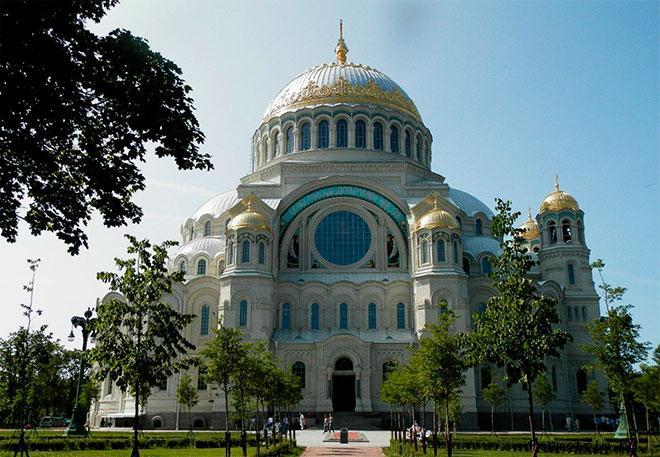 Никольский собор Кронштадта памятник погибшим морякам