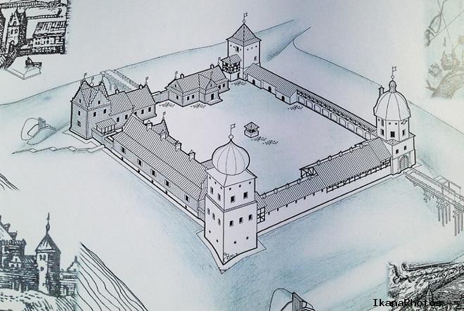 Любчанский замок Беларуси восстанавливается лишь силами волонтёров