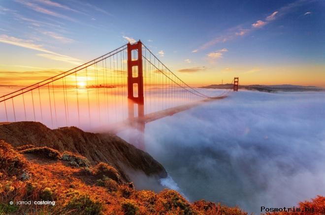 Мост Золотые ворота Калифорния