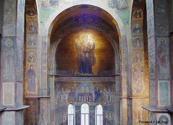 Фрески Софии Киевской