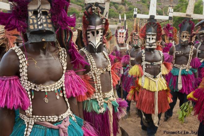 Догоны - племя в Африке