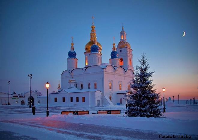 Архитектура Софийского собора в Тобольске