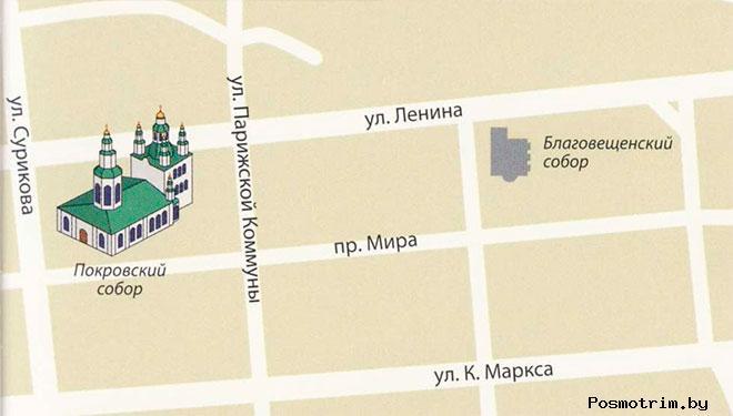 Покровская церковь Красноярска богослужения график работы контакты как добраться расположение на карте