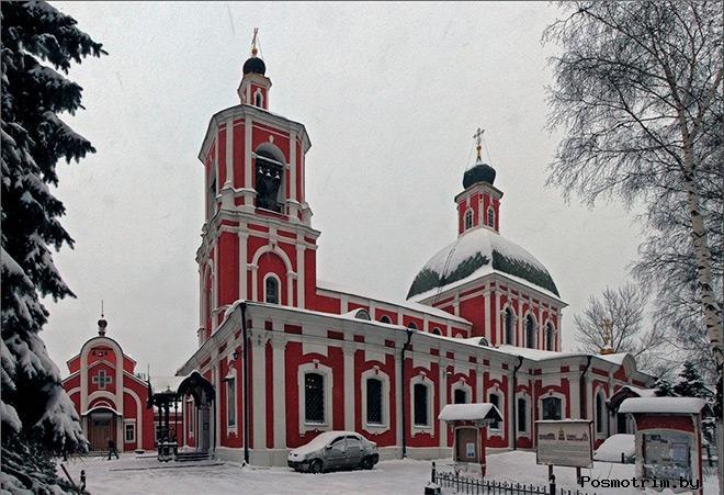 Архитектура храма Знамения Божьей Матери