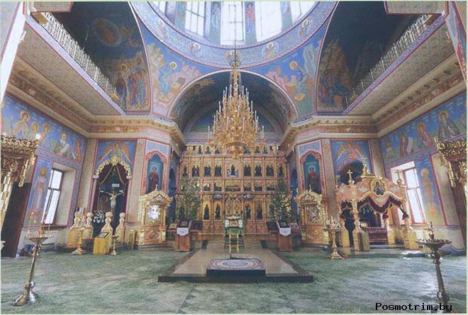 Интерьер Покровского собора Воронежа