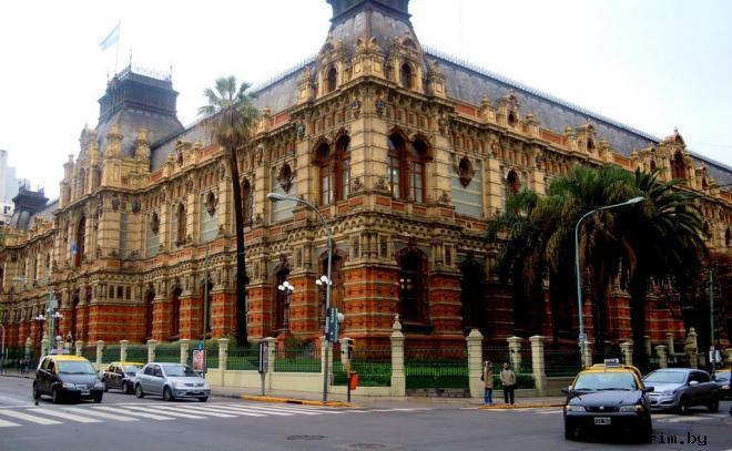 Дворец Паласио-де-лас-Агуас-Корриентес Аргентина