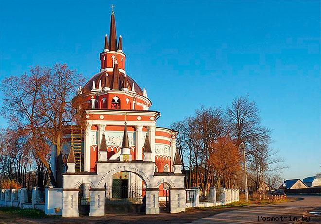 Никольский храм Царёво