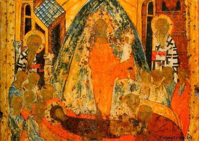 Икона Успения Божией Матери Софийский собор Вологда