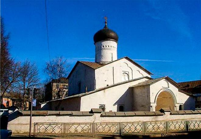 Церковь святых Космы и Дамиана с Примостья Псков