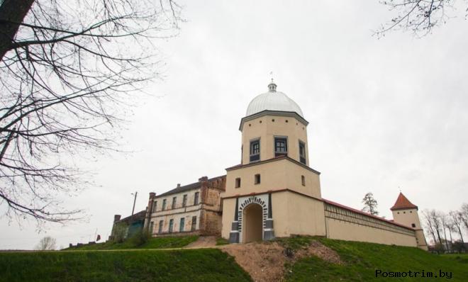 Любчанский замок Кишек и Радзивиллов краткая история и фото замка в Любче