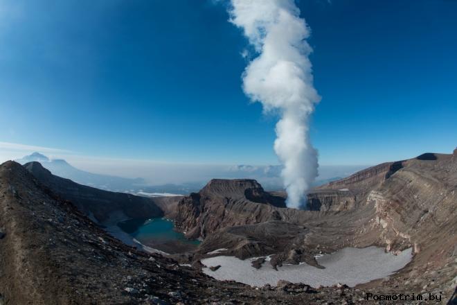 Вулкан Горелый Камчатка фото