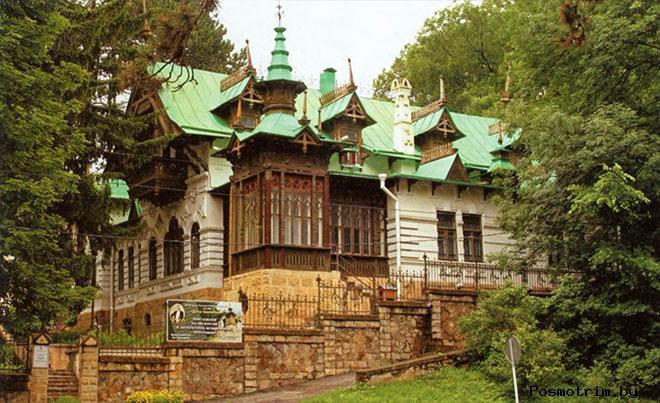 Дача Шаляпина Кисловодск