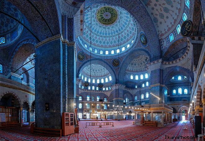 Голубая мечеть внутреннее убранство храма