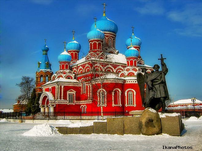 Архитектура собора в Борисове