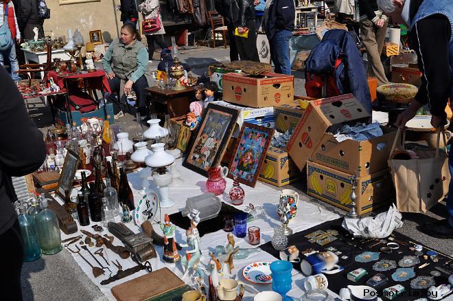 Время работы Парижского блошиного рынка Сент - Уан