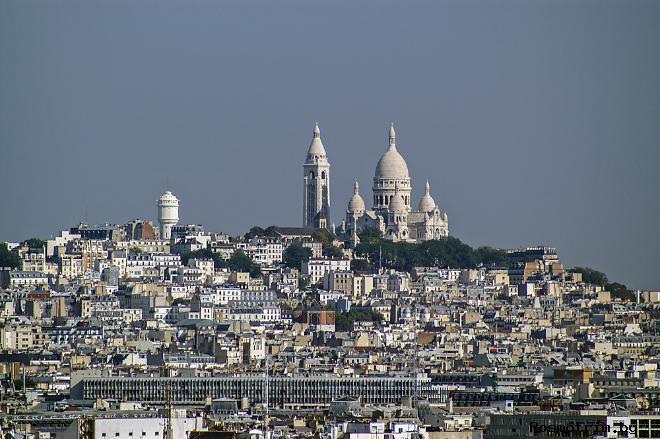 Квартал Монмартр (Montmartre) в Париже