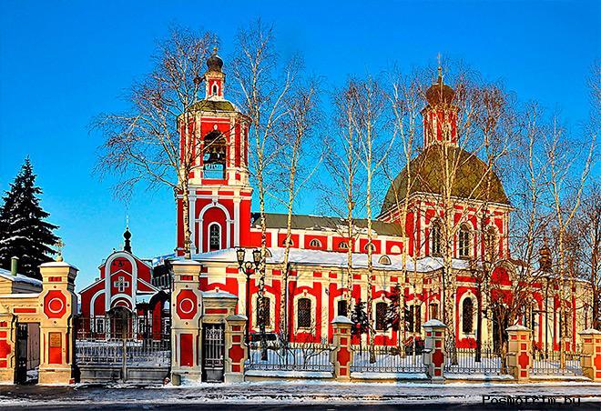 Храм Знамения Божьей Матери в Переяславской слободе Москва