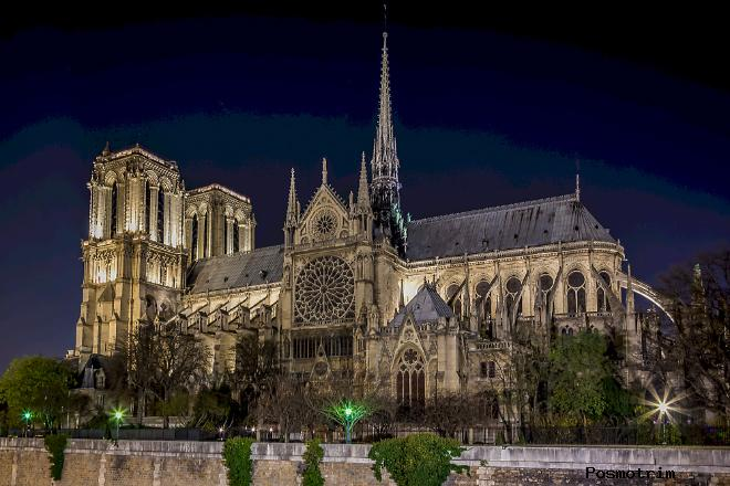 Архитектура собора Нотр-Дам де Пари