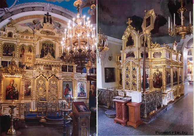 Внутри Храма Рождества Богородицы во Владыкино