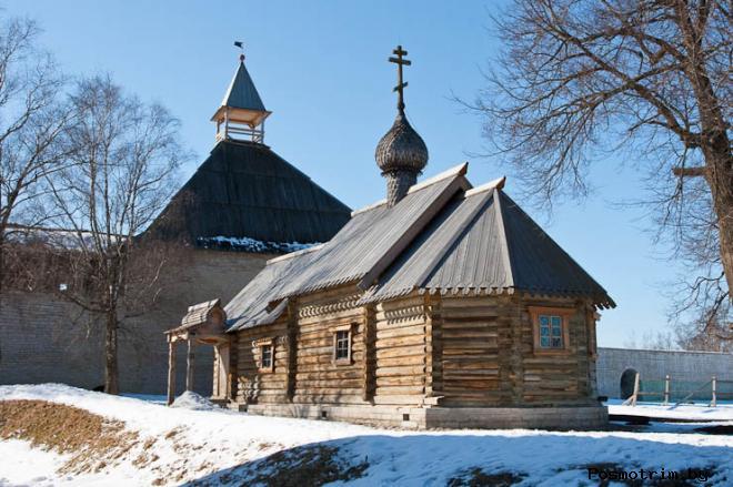 Церковь Дмитрия Солунского Старая Ладога