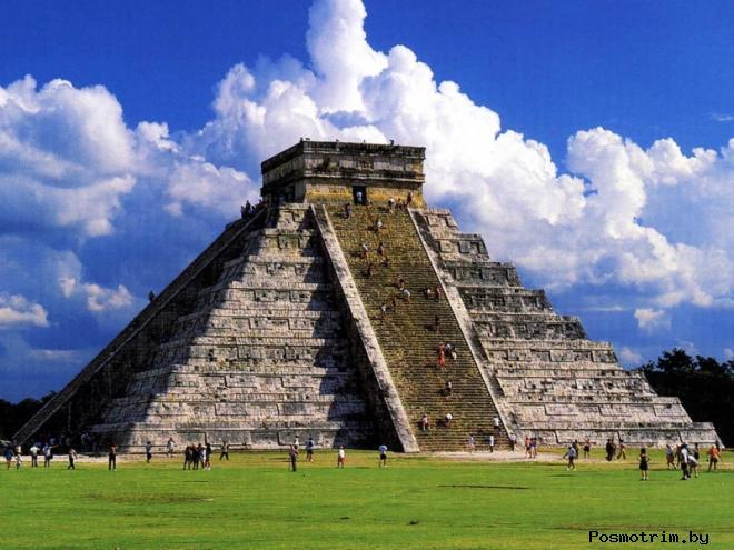 Храм Кукулькана в Чичен-Ице
