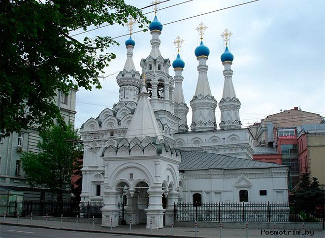 Храм Рождества Пресвятой Богородицы в Путинках Москва