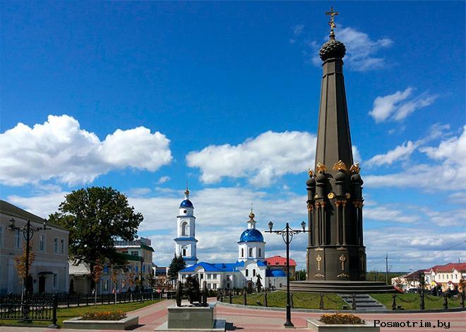 Малоярославец монумент Славы