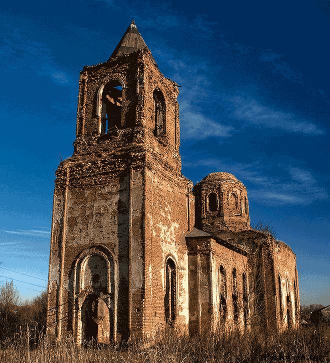 Церковь Святого Алексея в Смолянах