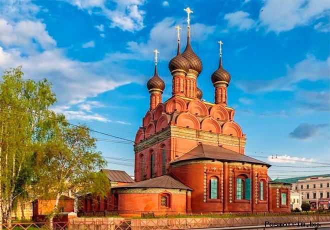 Церковь Богоявления Ярославль