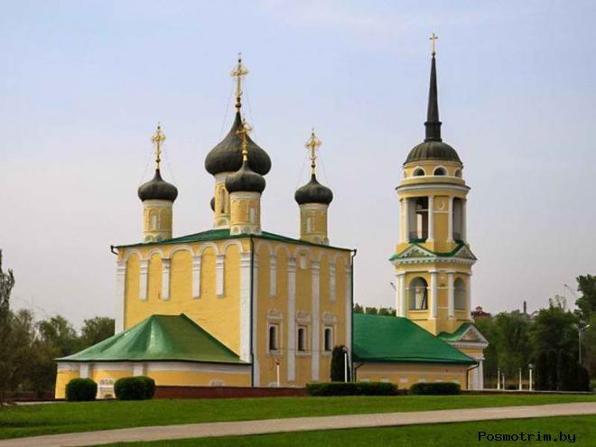 Успенская Адмиралтейская церковь Воронеж