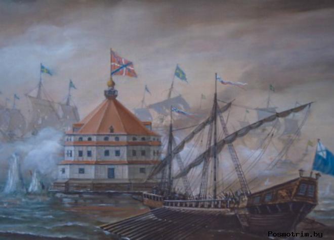 Кронштадт во время Крымской войны